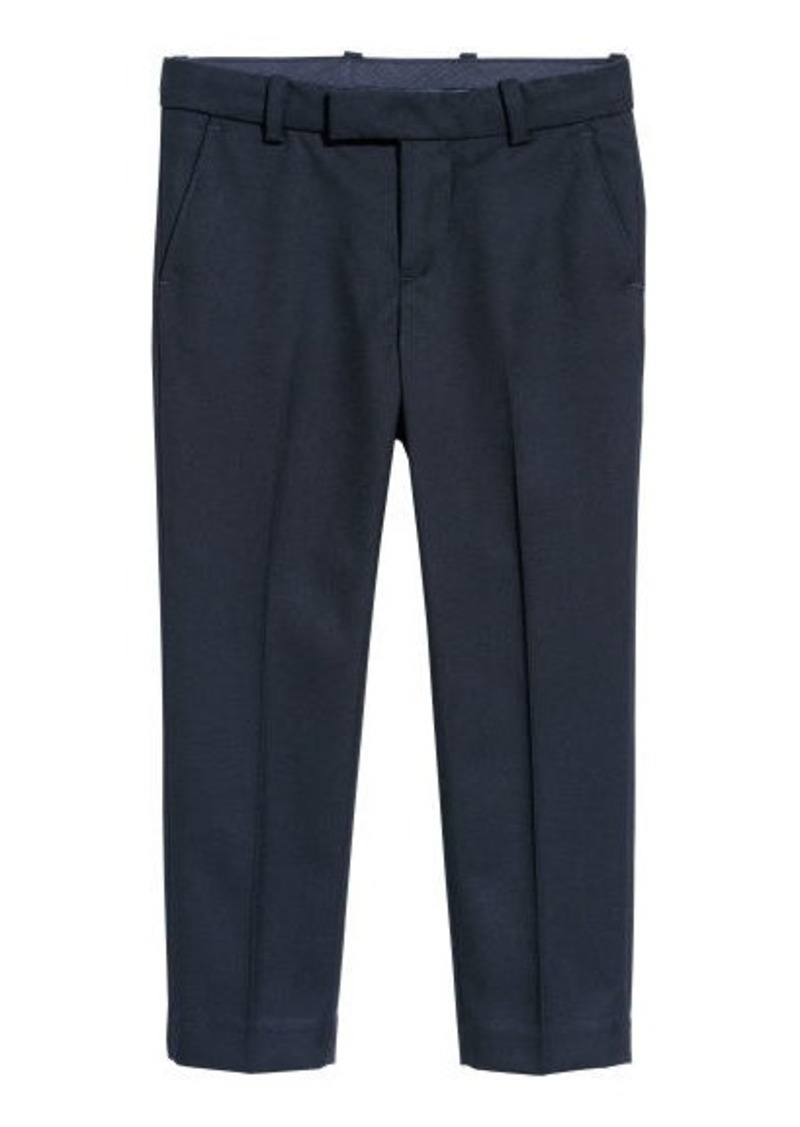 H&M H & M - Suit Pants - Blue