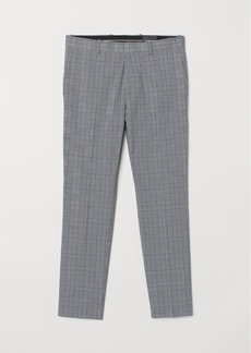 H&M H & M - Suit trousers Skinny Fit - Gray