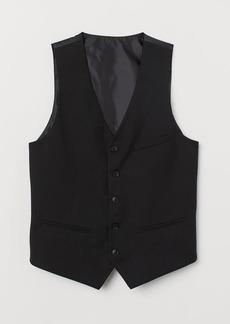 H&M H & M - Suit Vest - Black