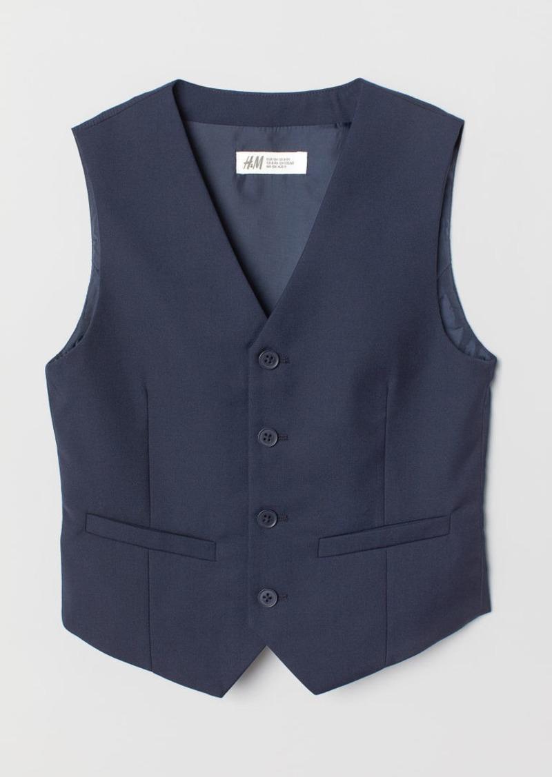 H&M H & M - Suit Vest - Blue