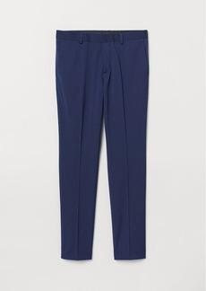 H&M H & M - Super Skinny Fit Suit Pants - Blue