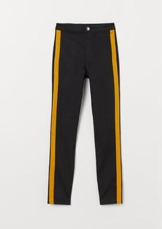 H&M H & M - Super Skinny High Ankle Jeans - Black