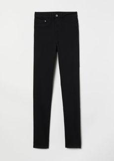 H&M H & M - Super Skinny High Jeggings - Black