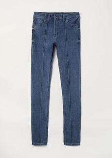 H&M H & M - Super Skinny Regular Jeans - Blue