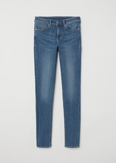H&M H & M - Super Skinny Regular Jeans - Blue