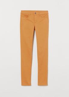H&M H & M - Super Skinny Regular Jeans - Yellow