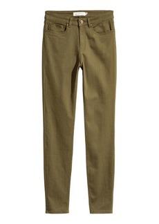 H&M H & M - Super Slim-fit Pants - Green