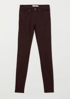 H&M H & M - Super Slim-fit Pants - Red