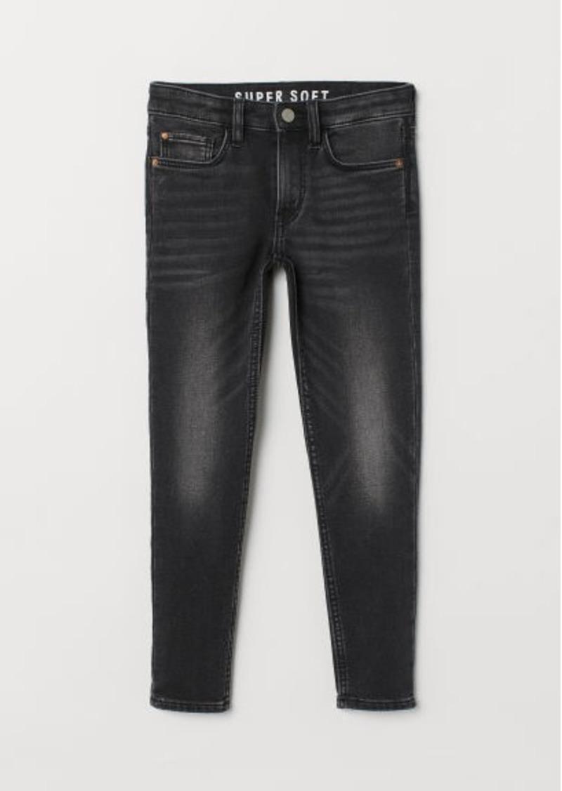 H&M H & M - Super Soft Skinny Fit Jeans - Black