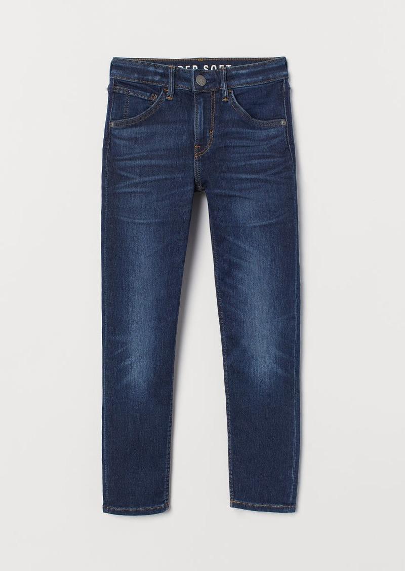 H&M H & M - Super Soft Skinny Fit Jeans - Blue