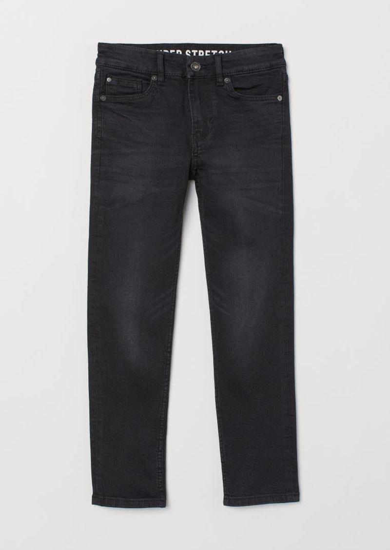 H&M H & M - Superstretch Skinny Fit Jeans - Black