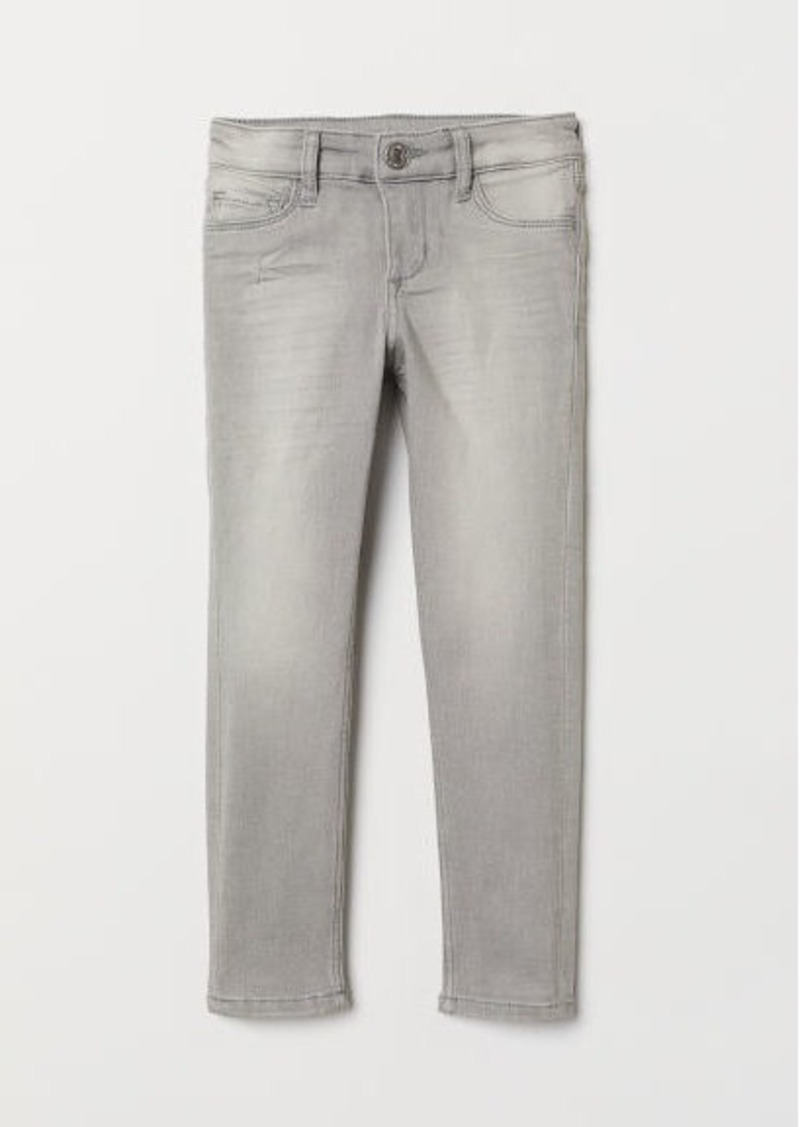 H&M H & M - Superstretch Skinny Fit Jeans - Gray