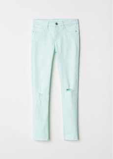 H&M H & M - Superstretch Skinny Fit Jeans - Green