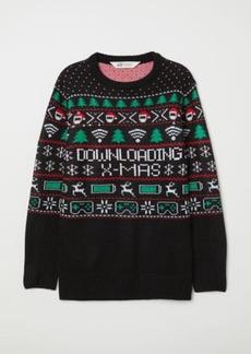 H&M H & M - Sweater - Black