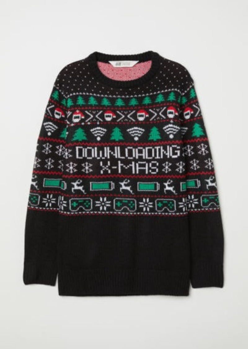 H&M H & M - Sweater - Black