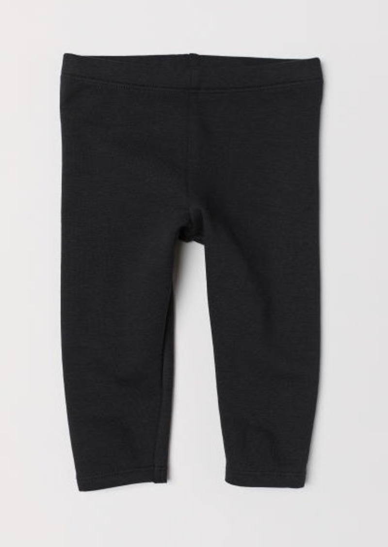 H&M H & M - Sweatshirt Leggings - Black