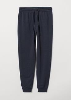 H&M H & M - Sweatpants Regular fit - Blue
