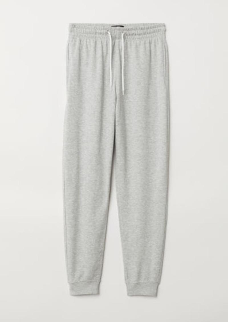H&M H & M - Sweatpants Regular fit - Gray