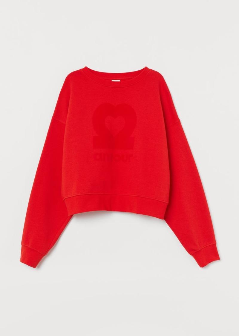 H&M H & M - Sweatshirt - Red