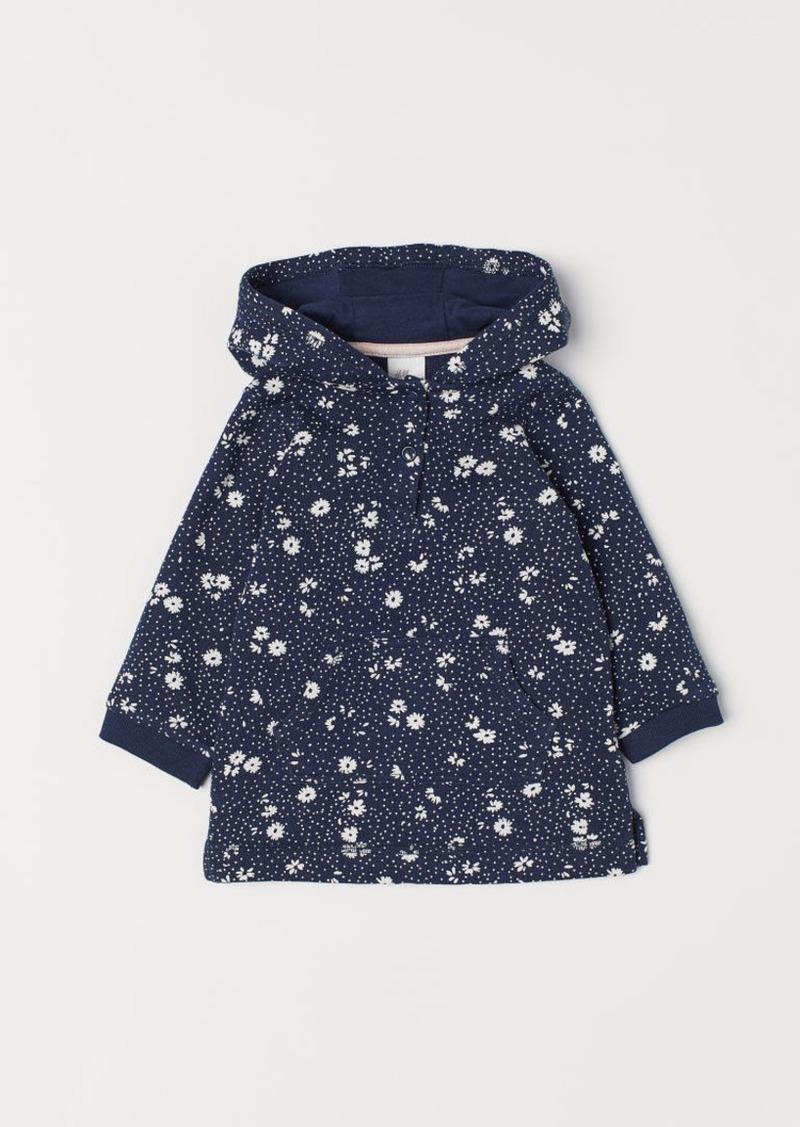 H&M H & M - Sweatshirt Dress - Blue