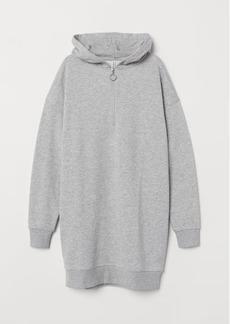 H&M H & M - Sweatshirt Dress - Gray