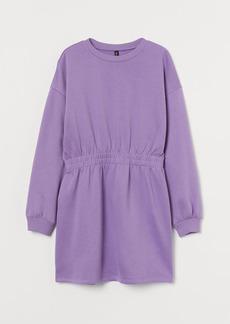 H&M H & M - Sweatshirt Dress - Purple