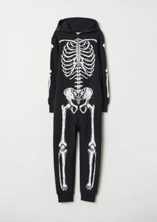 H&M H & M - Sweatshirt Jumpsuit - Black