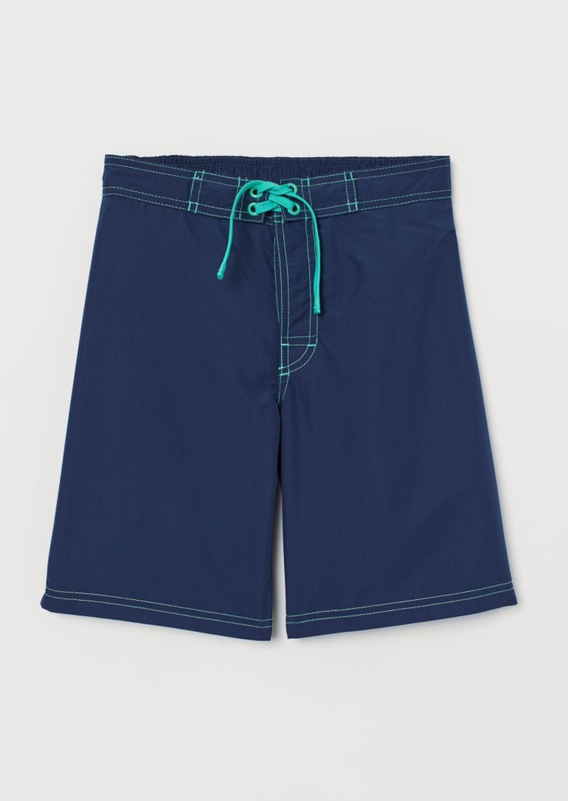 H&M H & M - Swim Shorts - Blue