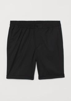 H&M H & M - Tailored Shorts - Black