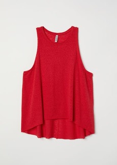 H&M H & M - Tank Top - Red
