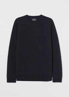 H&M H & M - Textured-knit Shirt - Blue