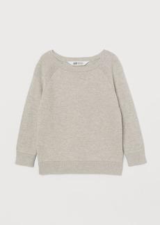 H&M H & M - Textured-knit Sweater - Beige