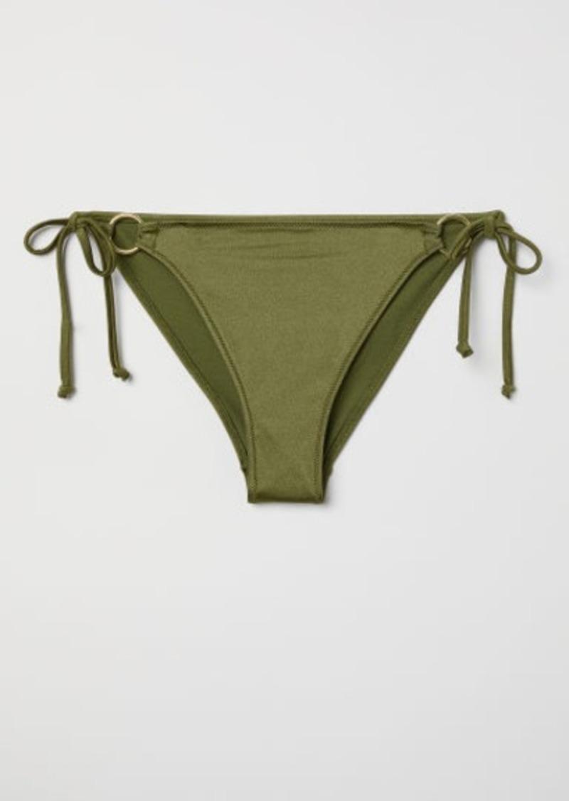 On Sale Today H M H M Tie Bikini Bottoms Green