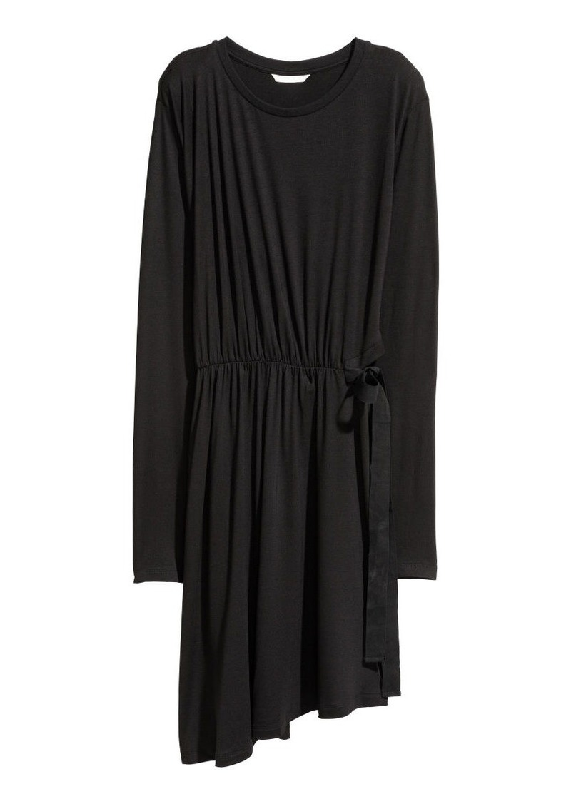 H&M H & M - Tie-detail Dress - Black