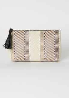 H&M H & M - Toiletry Bag with Tassels - Beige