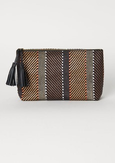 H&M H & M - Toiletry Bag with Tassels - Brown
