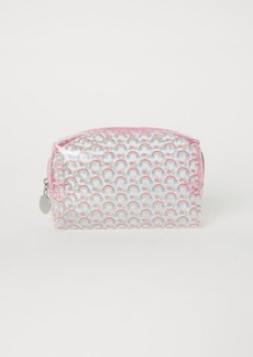 H&M H & M - Transparent Makeup Bag - Pink