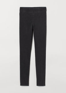 H&M H & M - Treggings - Black