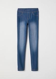 H&M H & M - Treggings - Blue