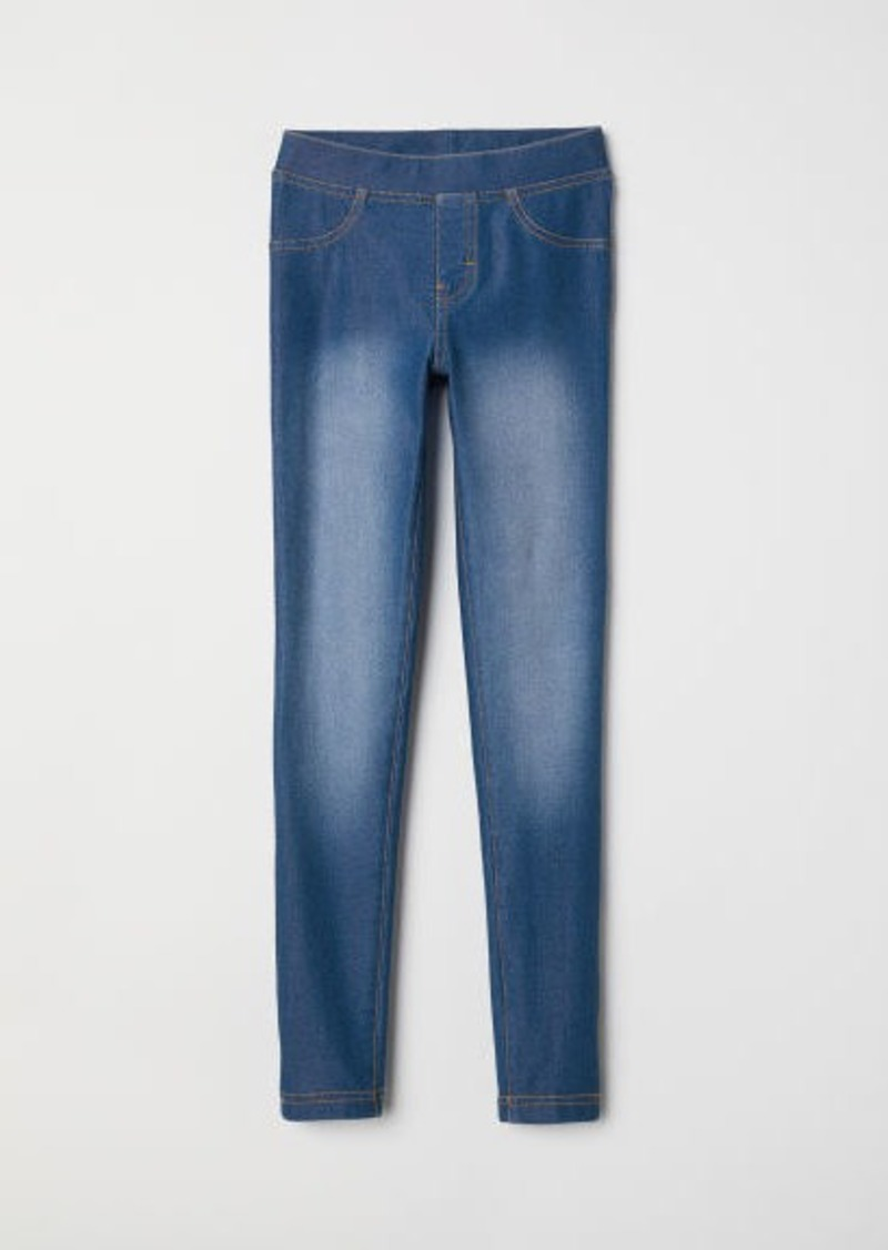 H&M H & M - Treggings - Blue
