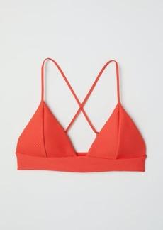 H&M H & M - Triangle Bikini Top - Red
