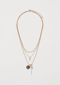 H&M H & M - Triple-strand Necklace - Gold
