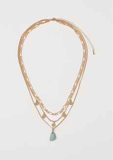 H&M H & M - Triple-strand Necklace - Green