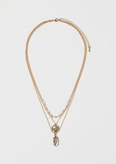 H&M H & M - Triple-strand Necklace - Orange