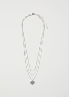 H&M H & M - Triple-strand Necklace - Silver