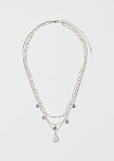 H&M H & M - Triple-strand Necklace - White