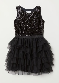H&M H & M - Tulle Dress - Black