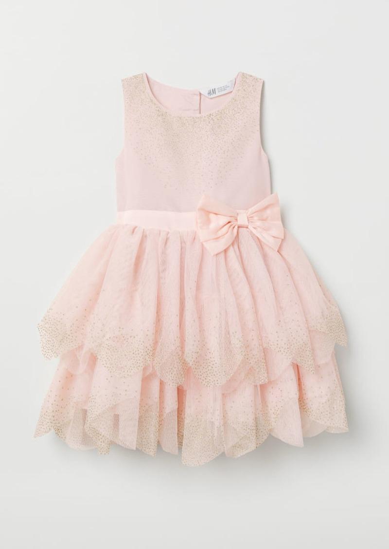 H&M H & M - Tulle Dress - Pink