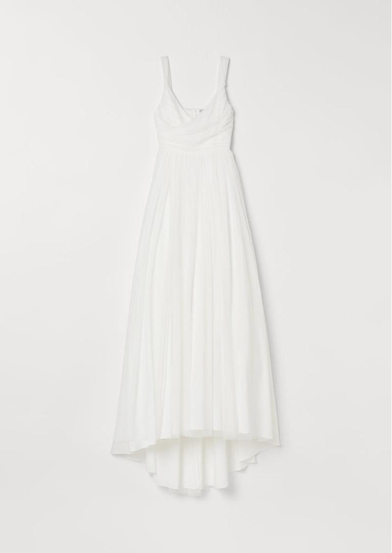 H&M H & M - Tulle Wedding Dress - White