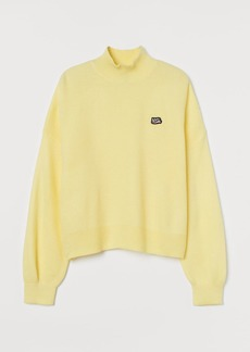 H&M H & M - Turtleneck Sweater - Yellow